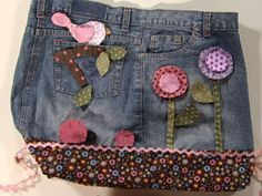 Como hacer un bolso reciclando vaqueros jeans - Marina Creativa 121121db3b88
