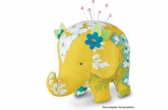 elefante alfiletero 1