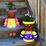 muñecos con macetas (2)