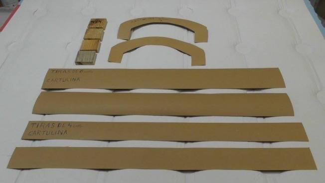 Cofre hecho con Cartón (3)