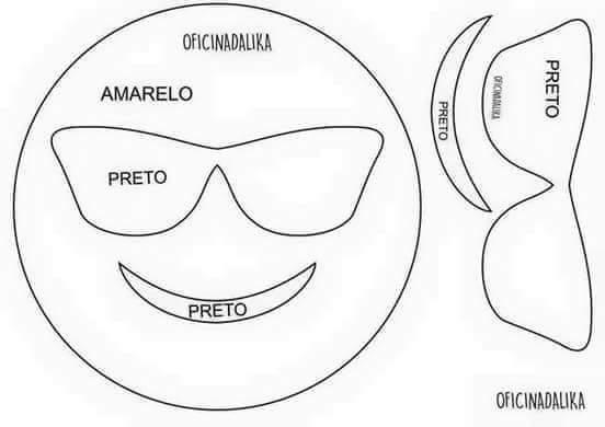 Moldes cojines de emoticones (5)