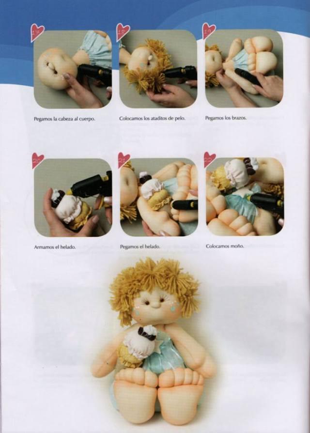 Muñeco bebé soft dulce y fresquito 3