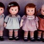Muñecas de tela con patrón