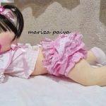 Muñeca de tela gateadora