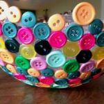 Como hacer un centro de mesa con botones