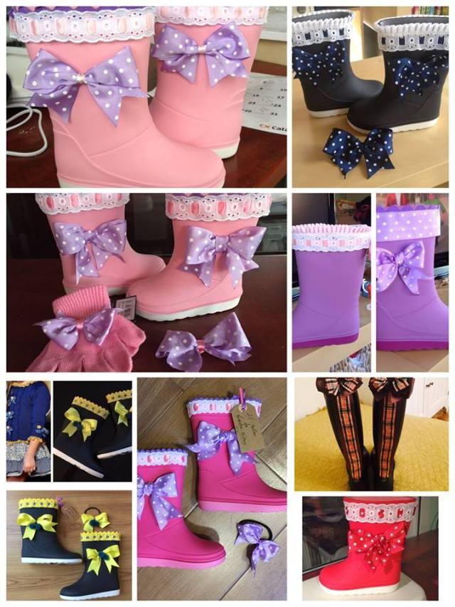 decorar botas de goma 2