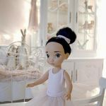 Patrón para hacer un traje de ballet para muñeca.