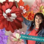 DIY Como hacer Flores Gigantes de papel