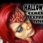DIY Cabeza abierta y cerebro fuera para Halloween