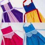Ideas para hacer delantales graciosos para niños