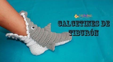 pantunflas-calcetines-tiburon