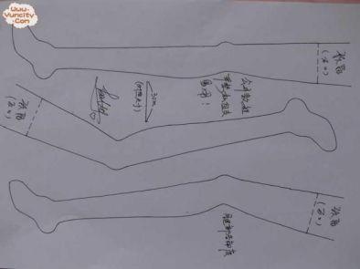 Patrón muñeca bailarina de tela (4)