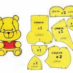 cabeza winnie de pooh baby