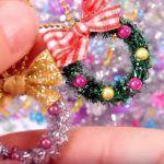 Decoraciones de Navidad mini – DIY