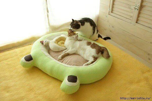 DIY Cama para mascotas