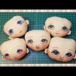 Tutorial para pintar cara de muñeca