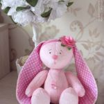 Moldes gratis de muñeca conejita