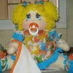Adorable muñeca bebe de tela con patrones gratis