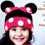 DIY Gorro Minnie Mouse a crochet