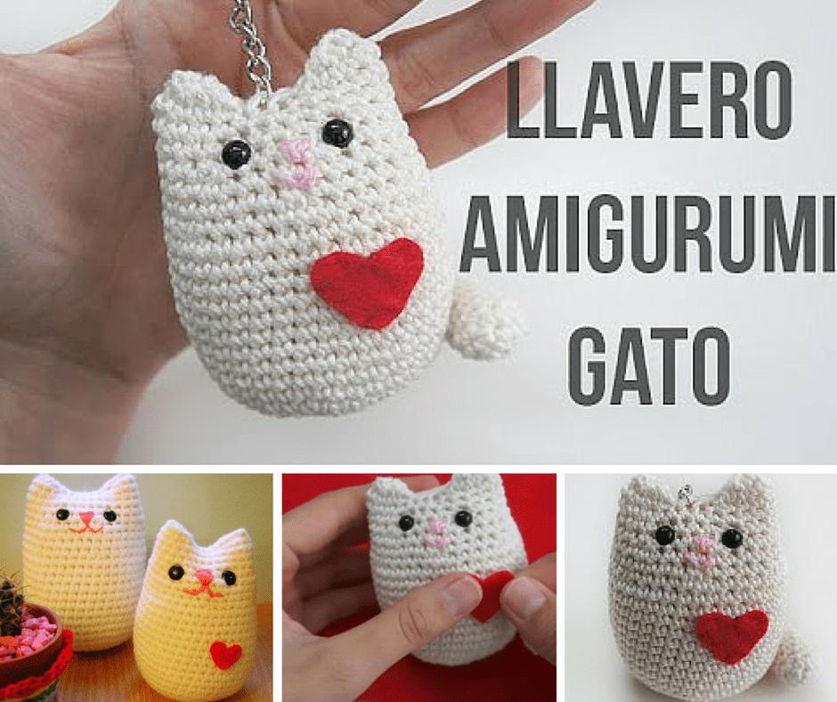 Gato Amigurumi Llavero : Amigurumi archivos marina creativa