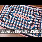 DIY para hacer una alfombra de trapillo rectangular