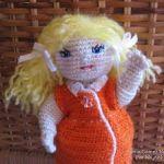 Patrón muñeca Silvia amigurimi