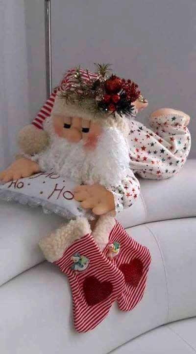 Papá Noel en Pijama