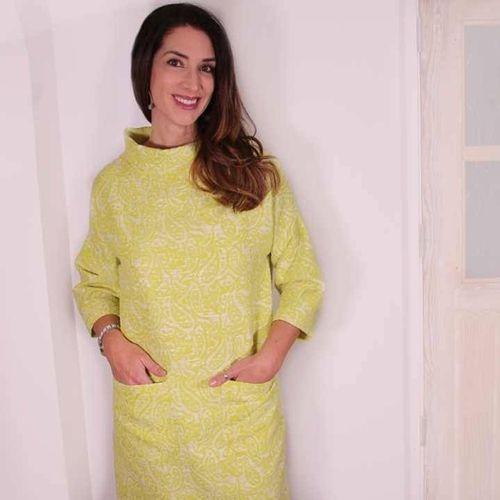Patrón y tutorial de vestido Rebeca fácil