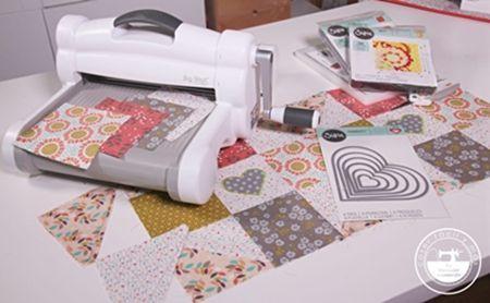 Manta de patchwork con patrones 2