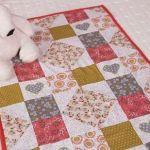 Manta de patchwork con patrones
