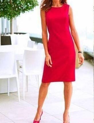 Sencillo vestido de mujer con patrones talla M