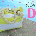 DIY para hacer un bolso de playa
