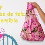 DIY+Patrón para hacer un bolso reversible