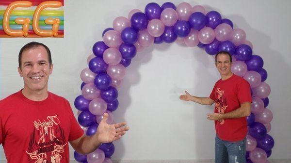 Diy como hacer un arco de globos