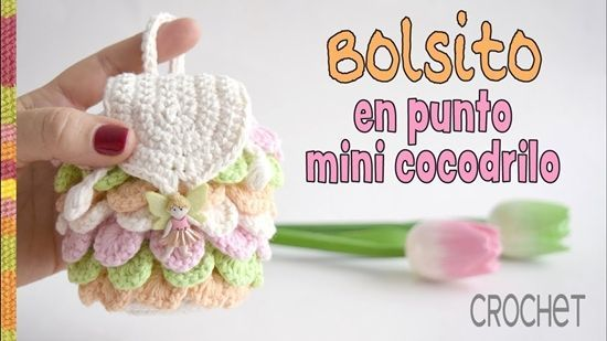 DIY bolso mini hecho a crochet