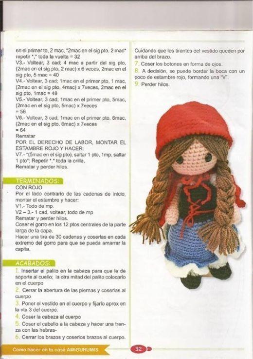 Caperucita Roja amigurimi(4)