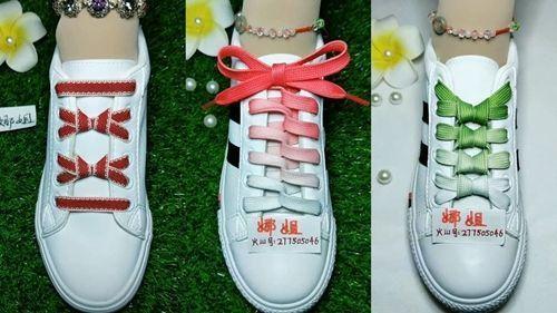 DIY diversas formas de atar los cordones de las zapatillas