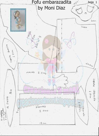Fofucha embarazada tutorial+patrones (3)