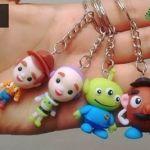 DIY personajes de Toy story en porcelana fría