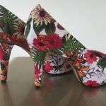 DIY para renovar tus zapatos forrandolos con tela