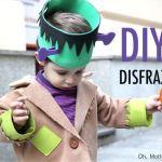 DIY disfraz de Frankenstein para niño
