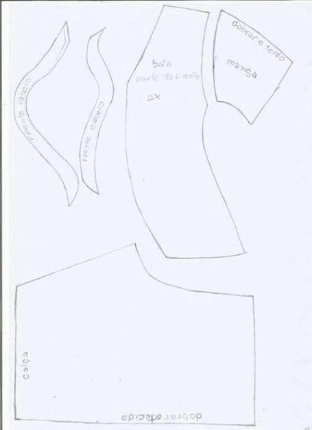 DIY+Moldes para hacer una muñeca embarazada en fieltro(5)