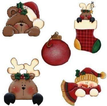 7 Láminas de decoupage para navidad (3)