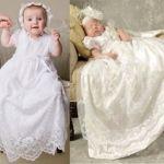 Vestido de bebé para bautizo