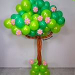 Diy para hacer un árbol de globos (globoflexia)