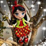 Muñeca Sheila amigurimi