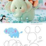 Molde-elefante fieltro-2
