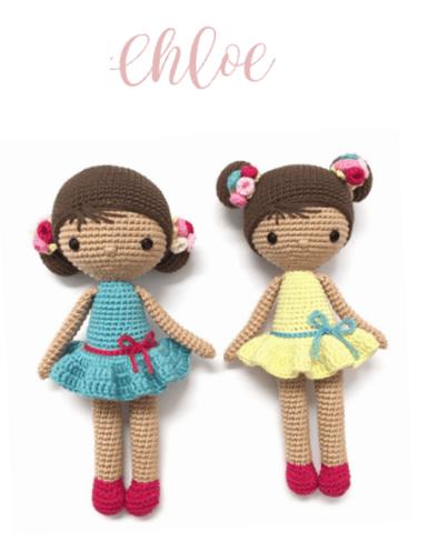 Muñeca Chloe amigurimi