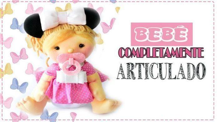 Muñeca bebé soft Minnie articulada