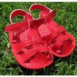 Patrón sandalias de verano para bebé